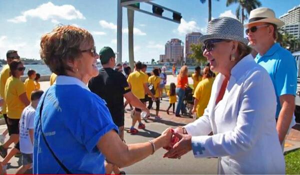 Suzanne Bob Wright Autism Walk