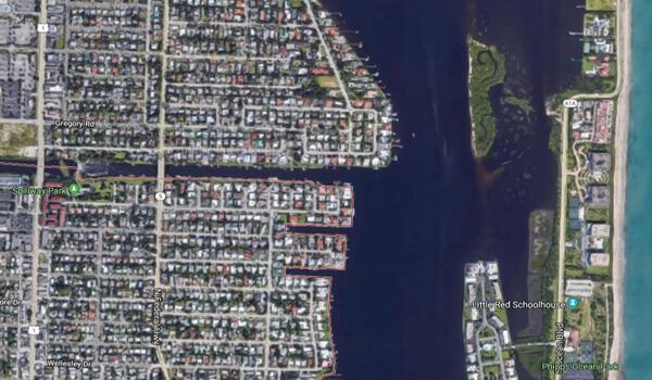 Satellite image of C-51