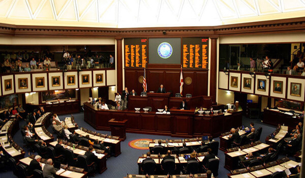 Florida House Legislative Chamber