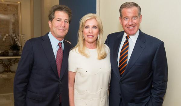 Photo: Howard and Michele Kessler, Brian Williams