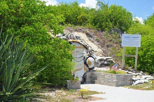 Kennedy Bunker Entrance