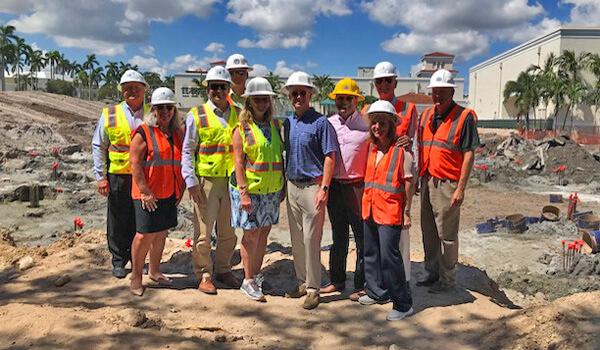 Rec Center Kickoff Group Photo