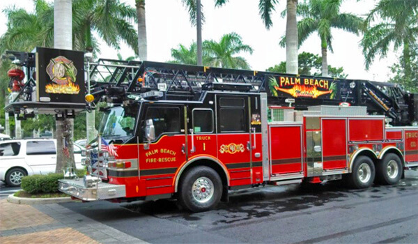 Palm Beach Fire Truck
