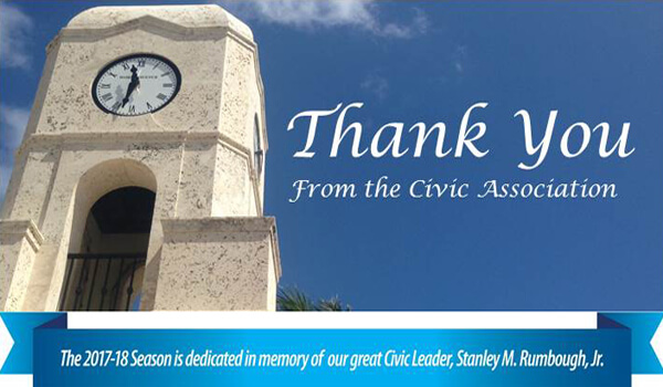 Thank You from the Civic Association