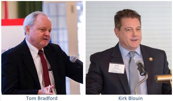 Tom Bradford & Kirk Blouin
