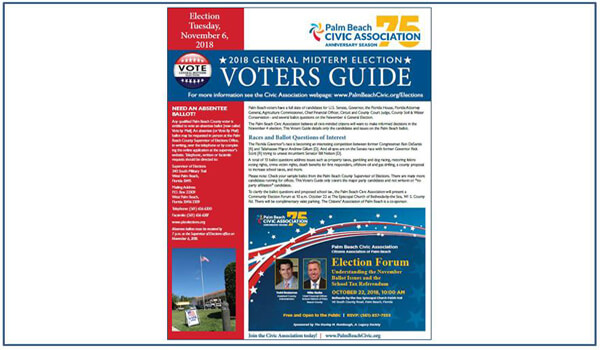 2018 PBCA Voters guide