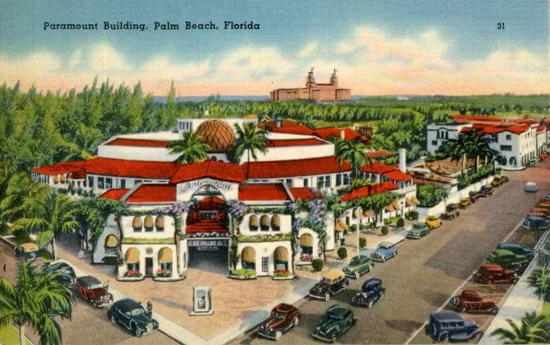 Paramount Theatre Posct Card 1927