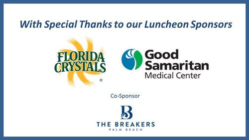 Town of Palm Beach Civic Association Annual Luncheon Sponsors