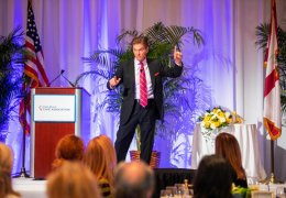 Dr. Oz at Town of Palm Beach Civic Association Annual Awards Luncheon