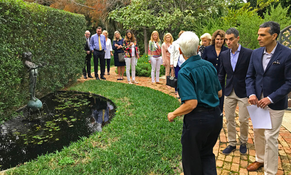 Civic Association Pan's Garden Tour in the Town of Palm Beach