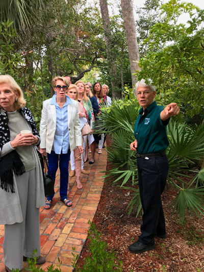 Civic Association Pan's Garden Tour in the Town of Palm Beach 2