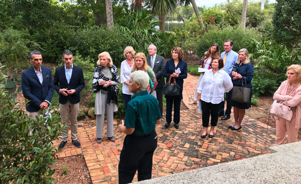 Civic Association Pan's Garden Tour in the Town of Palm Beach 3