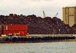 Port of Palm Beach Scrap Pile