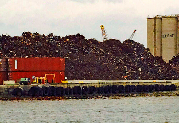 Port of Palm Beach Scrap Pile