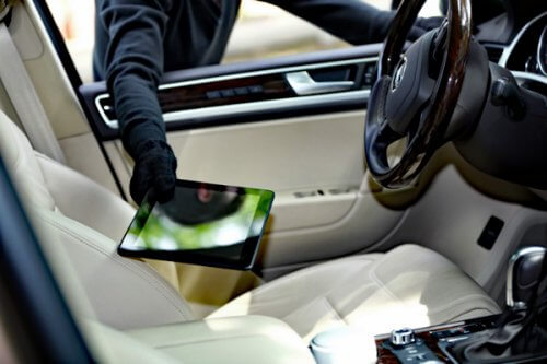 Auto Theft iPad in the Town of Palm Beach