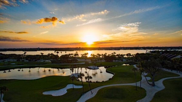 Town of Palm Beach Par 3 Country Club Sunset