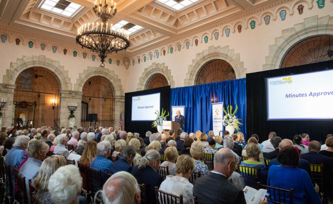 Palm Beach Civic Association Annual Meeting 2019