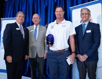 Craig Pollack receives Palm Beach Civic Association Kunkel Award