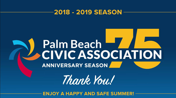 a04b65902ead ... Palm Beach Civic Association – The First 75 Years documentary was  shown. Stay tuned for all the news about this event this week. History  Thank You