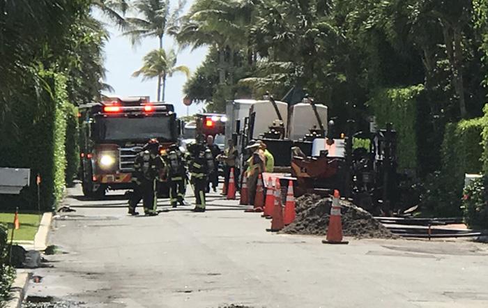 Town of Palm Beach Gas Leak Fire-Rescue