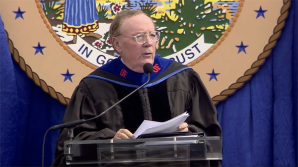 James Patterson UF Commencement