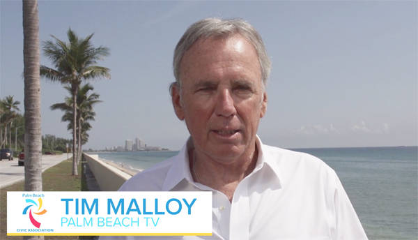 Tim Malloy Sea Turtle Season on Civic Association Palm Beach TV