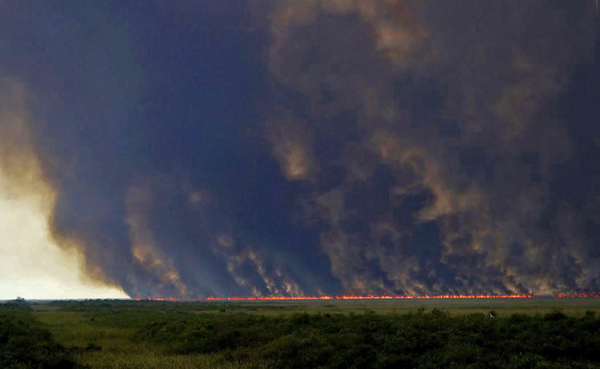 6-27-2019 Everglades Fire 42,000 acres
