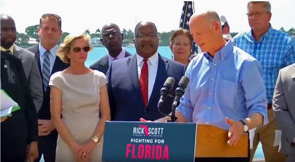 U.S. Senator Rick Scott Port Announcement