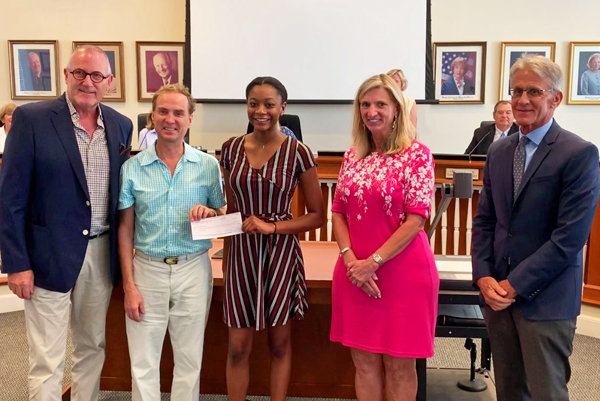 2019 Town of Palm Beach Employee Scholarship Winner