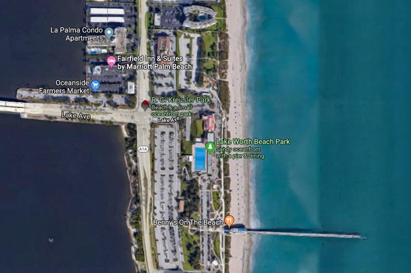 Kreusler Park Aerial Map