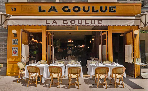 La Goulue Outside Seating in NY