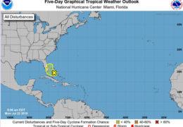 Tropical Disturbance 7-22-2019