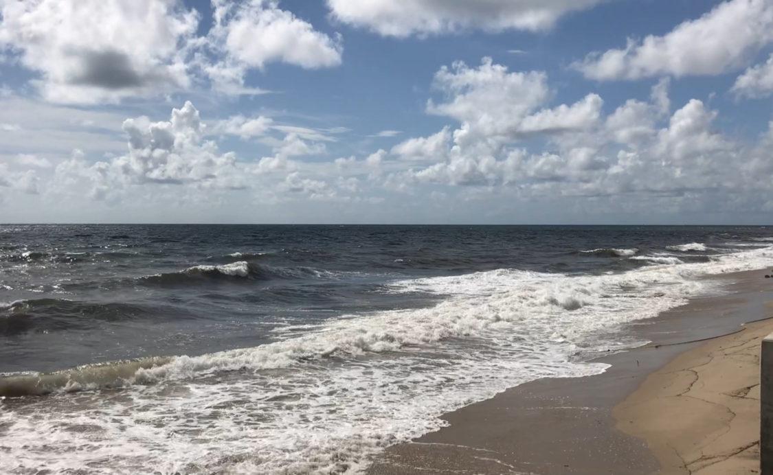 waves at Ocean Club Noon 8-31-19