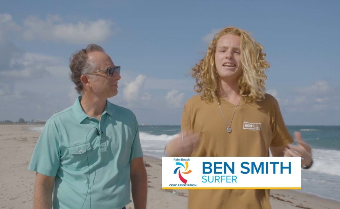 Palm Beach Civic Association Spotlight: Palm Beach Surfer Ben Smith