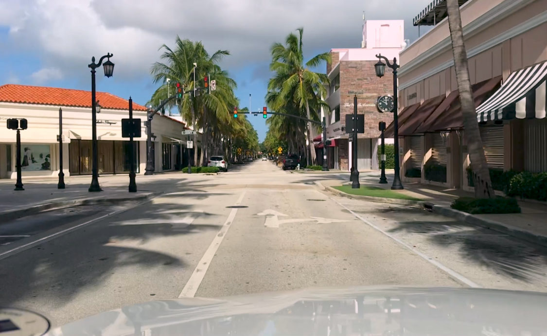 Worth Ave Deserted 9-1-2019