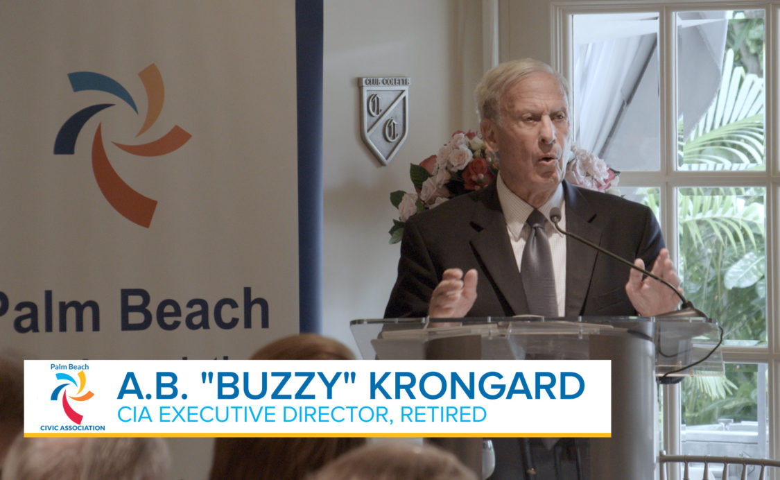 Global Speaker Series Buzzy Krongard