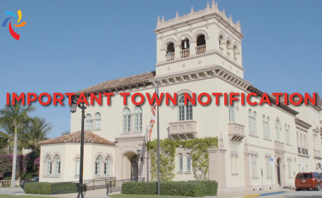 Important Town Notification