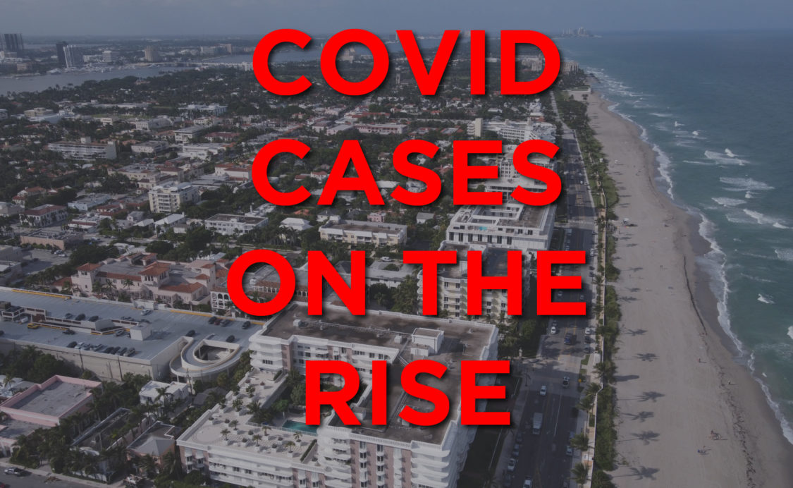 Breaking News: COVID-19 cases on the rise