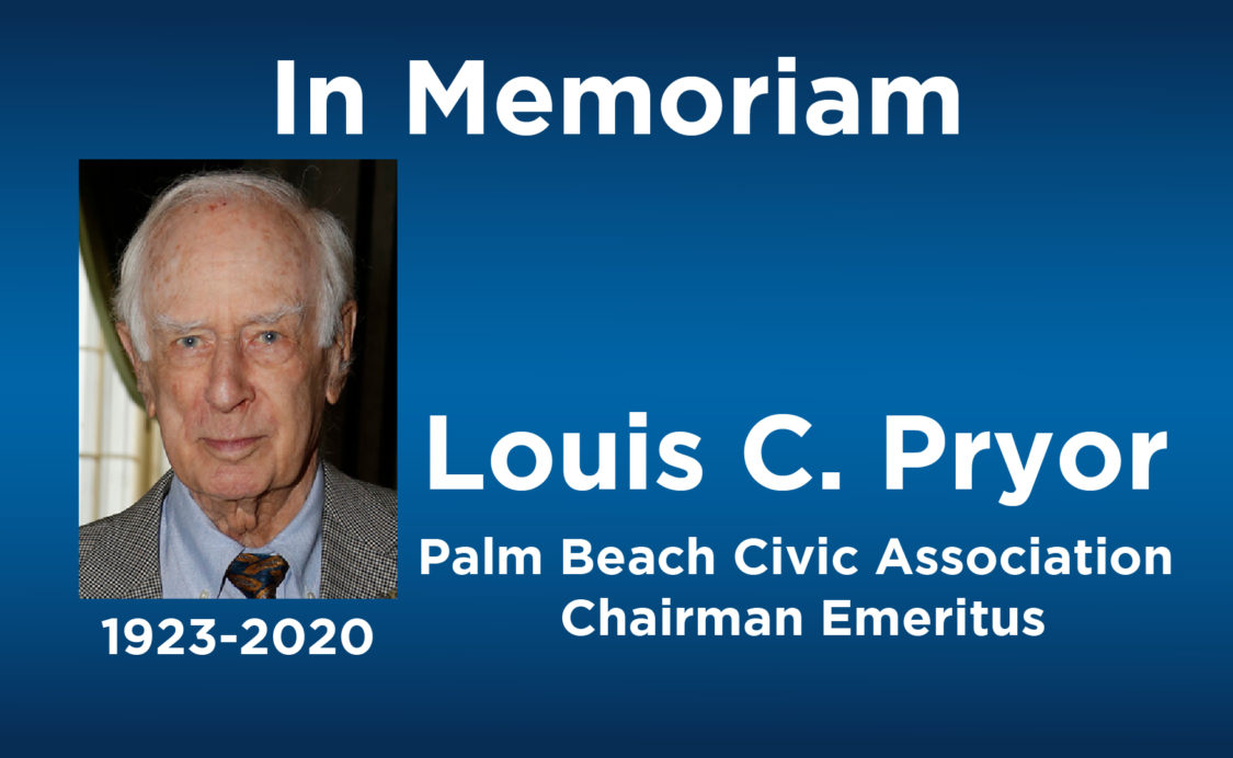 In Memoriam Louis Pryor