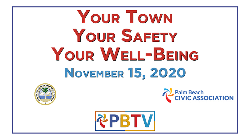 our town Your safety Your Well-Being cover