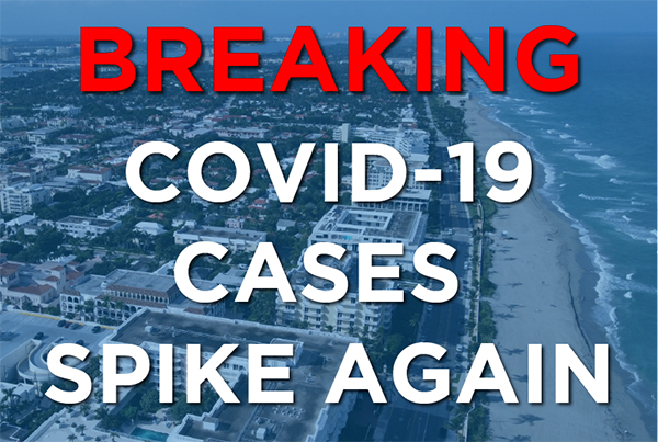 COVID Cases Spike Again