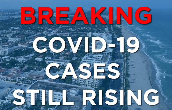 Breaking News: COVID Cases Still Rising