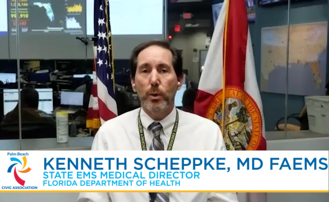 Dr Kenneth Scheppke section of Your Town Your Safety Your Well-Being - December 3, 2020