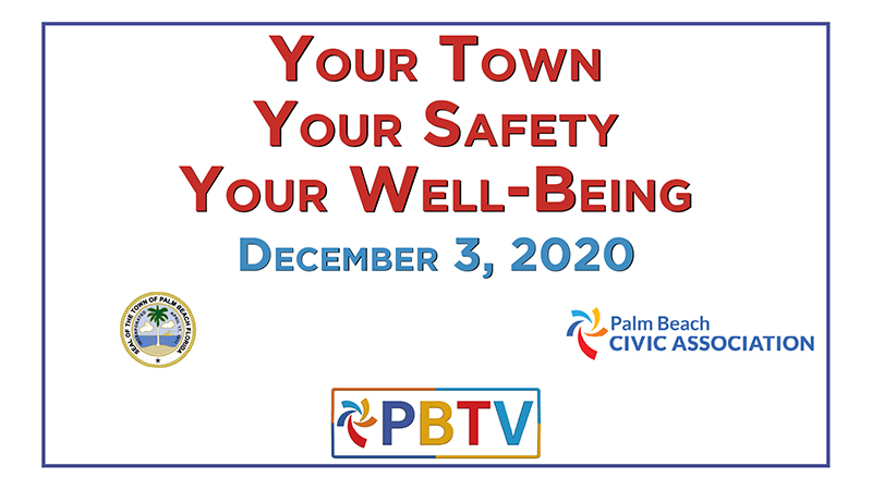 Your Town Your Safety Your Well-Being - December 3, 2020