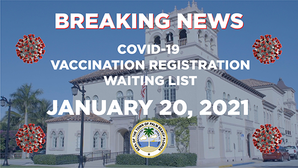 vaccine registration breaking news