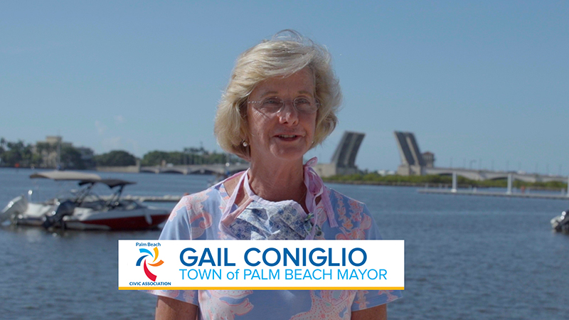Mayor Gail Coniglio