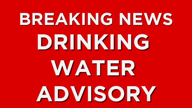 Drinking water advisory