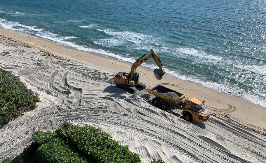 Reach 8 Beach Renourishment