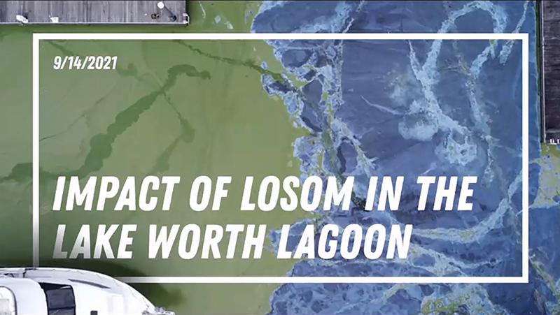 Impact of LOSOM in the Lake Worth Lagoon