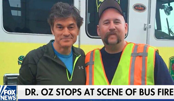 Dr. Oz Stops For Rescue-FoxNews